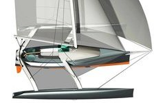 Trimaran Blue One 26